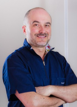 Dott. MArco Calabrese del Centro Medico Odontoiatrico Clinica Sorriso del Bambino