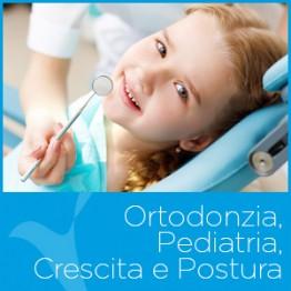 Ortodonzia, Pediatria, Crescita e Postura del Centro Medico Odontoiatrico Clinica Sorriso del Bambino