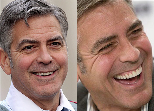 george clooney faccette